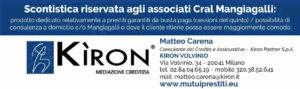 Sconti riservati associati Cral Mangiagalli - Kiron Partner Via Volvinio 34 Milano